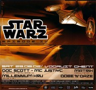 Affiche Star Warz IV