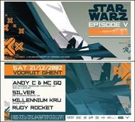 Affiche Star Warz V