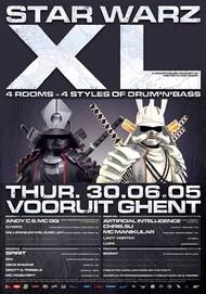 Affiche Star Warz XL