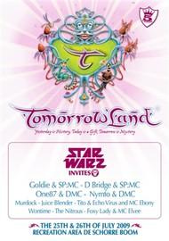 Affiche Star Warz @ Tomorrowland 2009