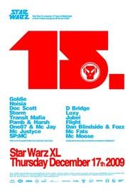 Affiche Star Warz XL presents 15 Years of Metalheadz