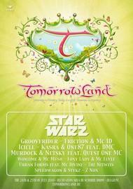 Affiche Star Warz @ Tomorrowland 2010