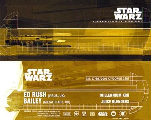 Star Warz - Sat 17-03-01, Kunstencentrum Vooruit