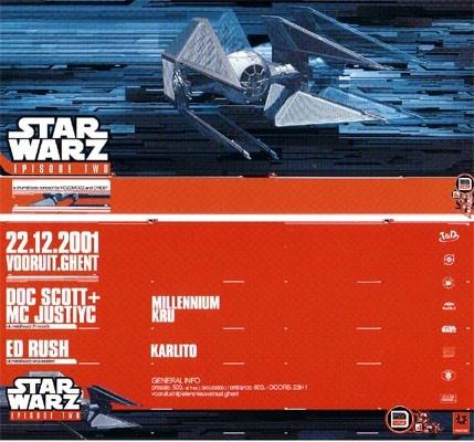 Star Warz II - Sat 22-12-01, Kunstencentrum Vooruit
