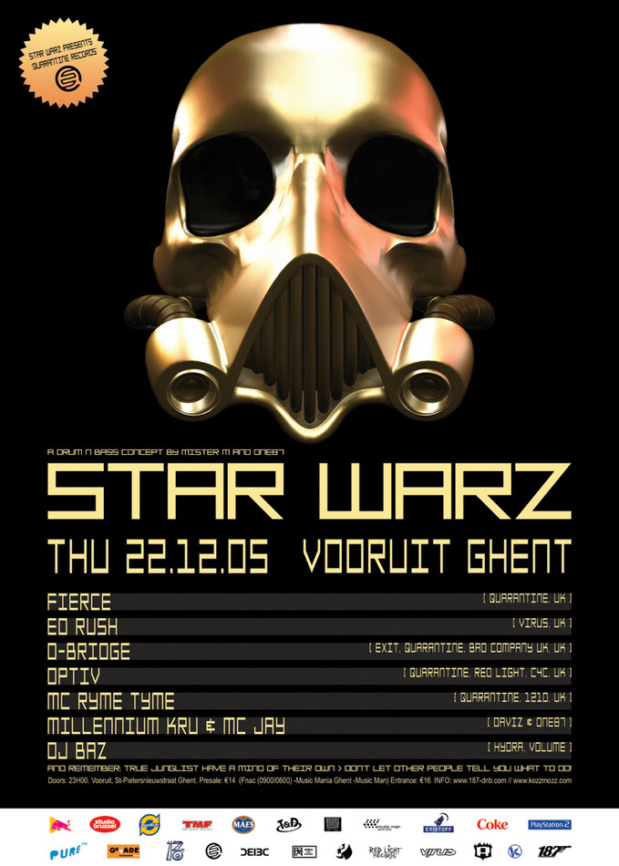 Star Warz - Thu 22-12-05, Kunstencentrum Vooruit