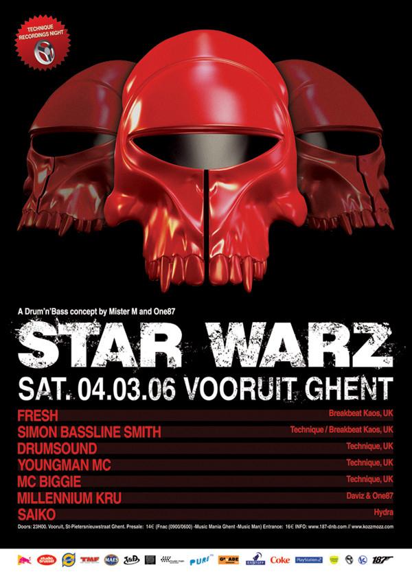 Star Warz - Sat 04-03-06, Kunstencentrum Vooruit
