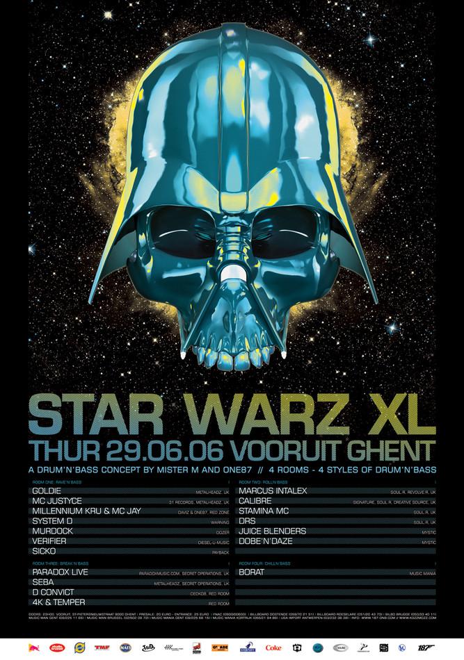 Star Warz XL - Thu 29-06-06, Kunstencentrum Vooruit