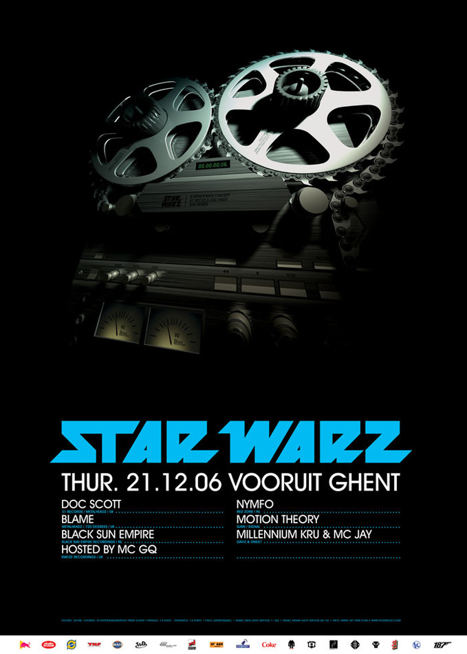 Star Warz - Thu 21-12-06, Kunstencentrum Vooruit
