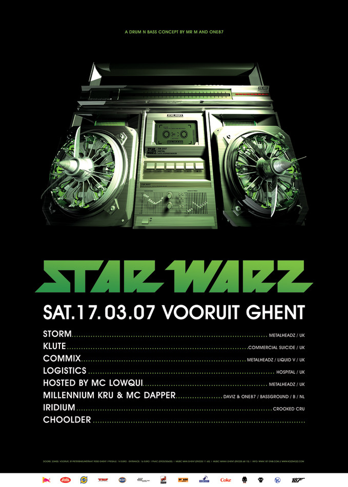 Star Warz - Sat 17-03-07, Kunstencentrum Vooruit