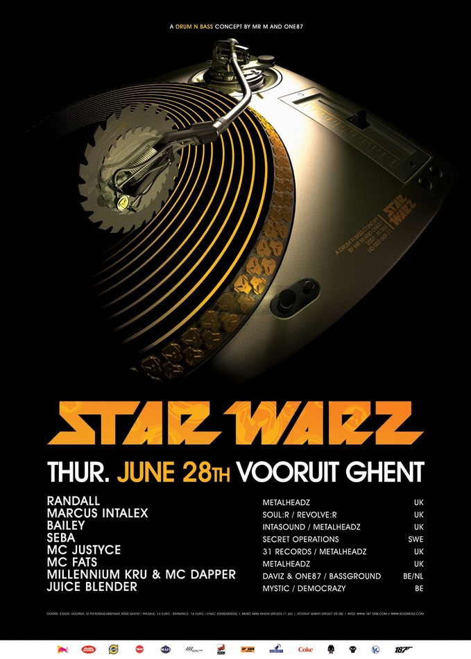Star Warz - Thu 28-06-07, Kunstencentrum Vooruit