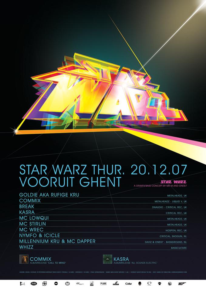 Star Warz - Thu 20-12-07, Kunstencentrum Vooruit
