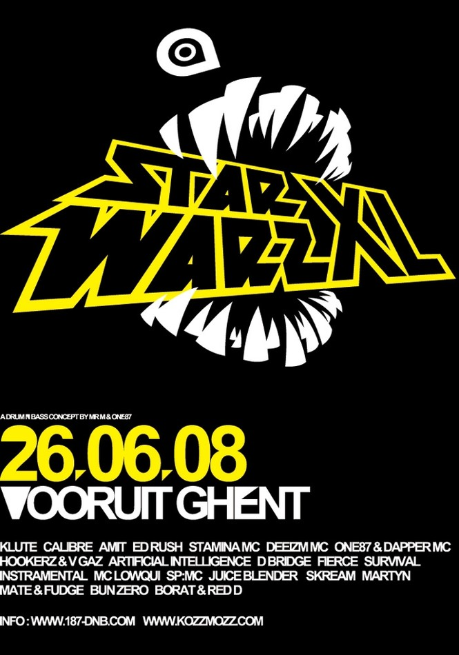 Star Warz XL - Thu 26-06-08, Kunstencentrum Vooruit