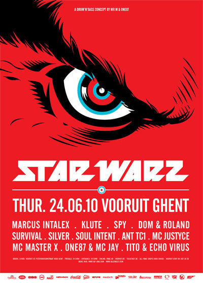 Star Warz - Thu 24-06-10, Kunstencentrum Vooruit