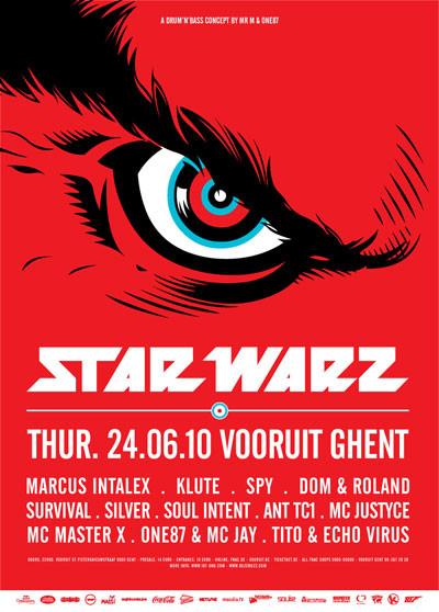 Star Warz - Thu 24-06-10, Kunstencentrum Vooruit