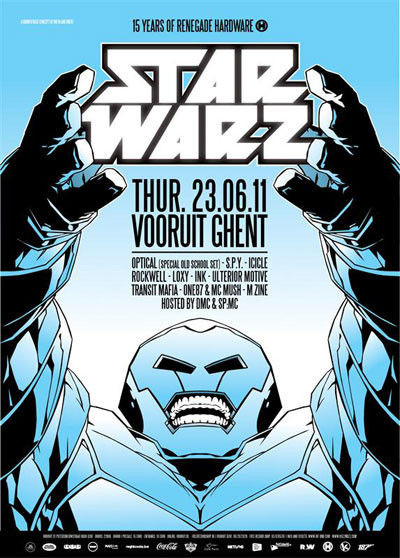 Star Warz - Thu 23-06-11, Kunstencentrum Vooruit