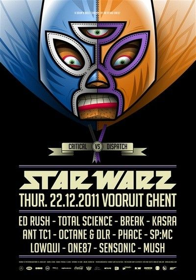 Star Warz - Critical vs Dispatch - Thu 22-12-11, Kunstencentrum Vooruit