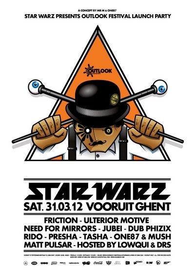 Star Warz - Sat 31-03-12, Kunstencentrum Vooruit