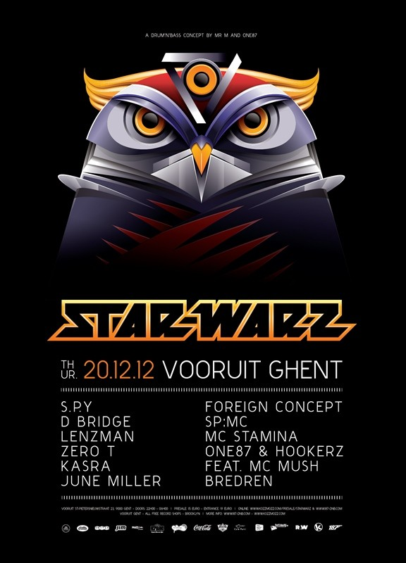 Star Warz - Thu 20-12-12, Kunstencentrum Vooruit