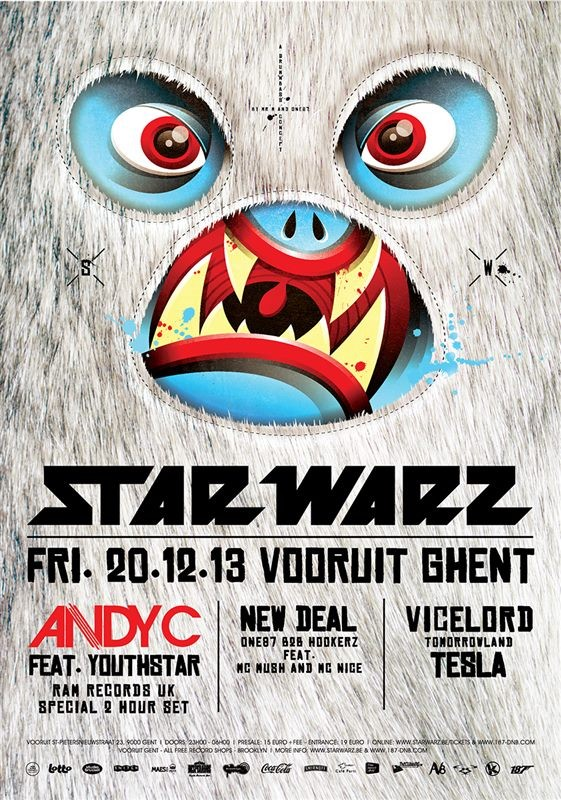 Star Warz - Fri 20-12-13, Kunstencentrum Vooruit
