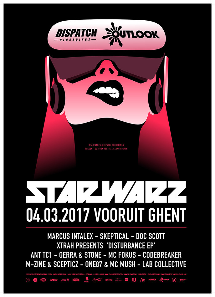 Star Warz - Sat 04-03-17, Kunstencentrum Vooruit