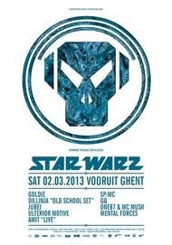 Affiche Star Warz presents Metalheadz