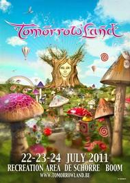 Affiche Star Warz @ Tomorrowland 2011
