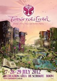 Affiche Star Warz @ Tomorrowland 2012