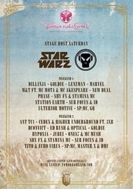 Affiche Star Warz @ Tomorrowland 2014
