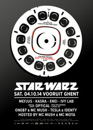 Affiche Star Warz presents Critical Music