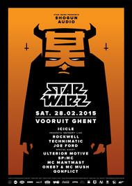 Affiche Star Warz presents Shogun Audio