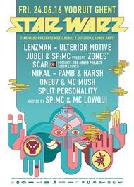 Affiche Star Warz presents Metalheadz x Outlook Launch Party